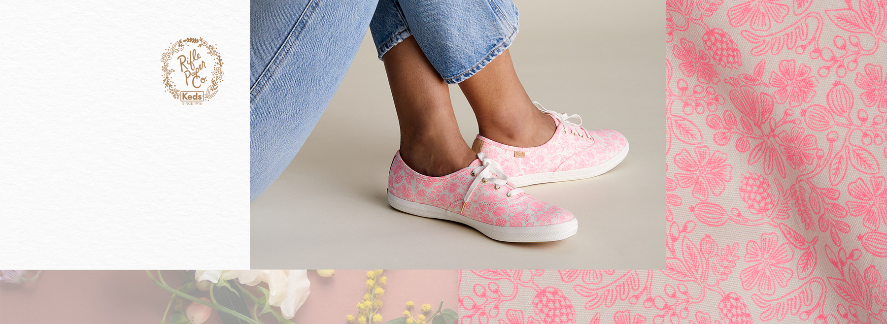 Keds and The Rifle Paper Co