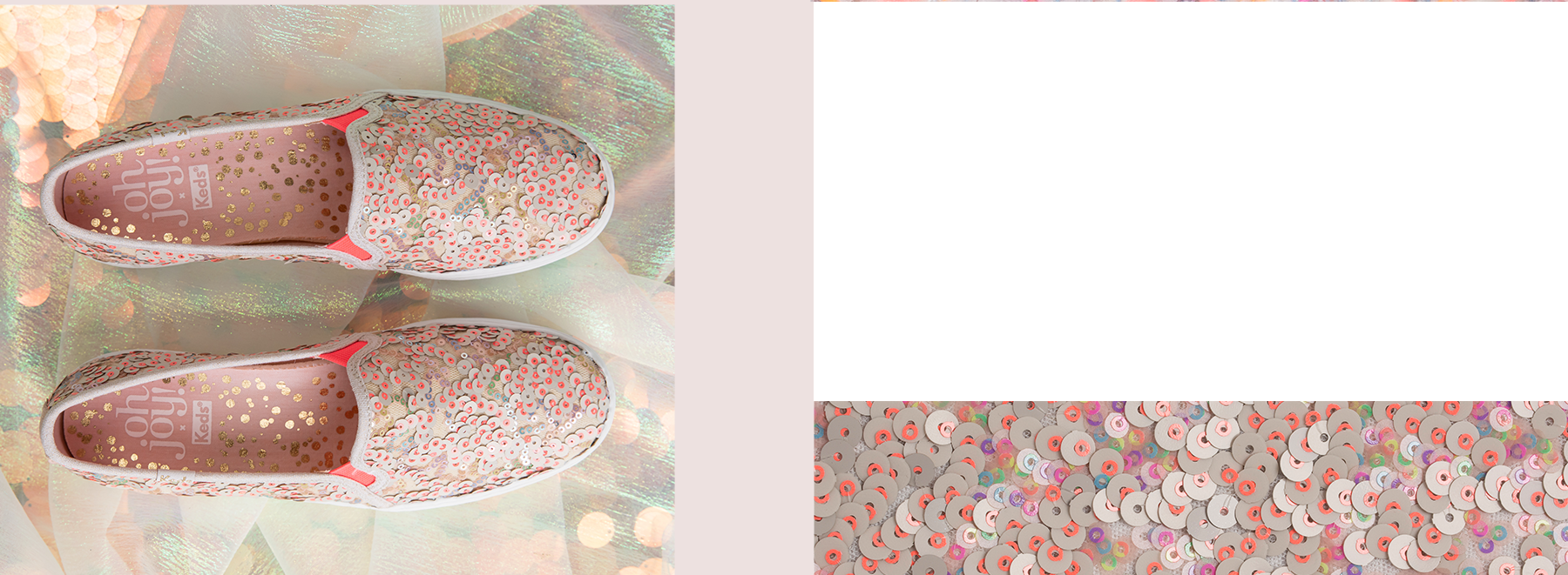 Women's Keds x Oh Joy! Triple Decker Sequins