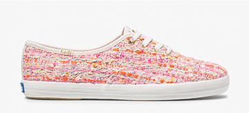 Keds x Oh Joy! Pink Multi Champion Woven Sneaker