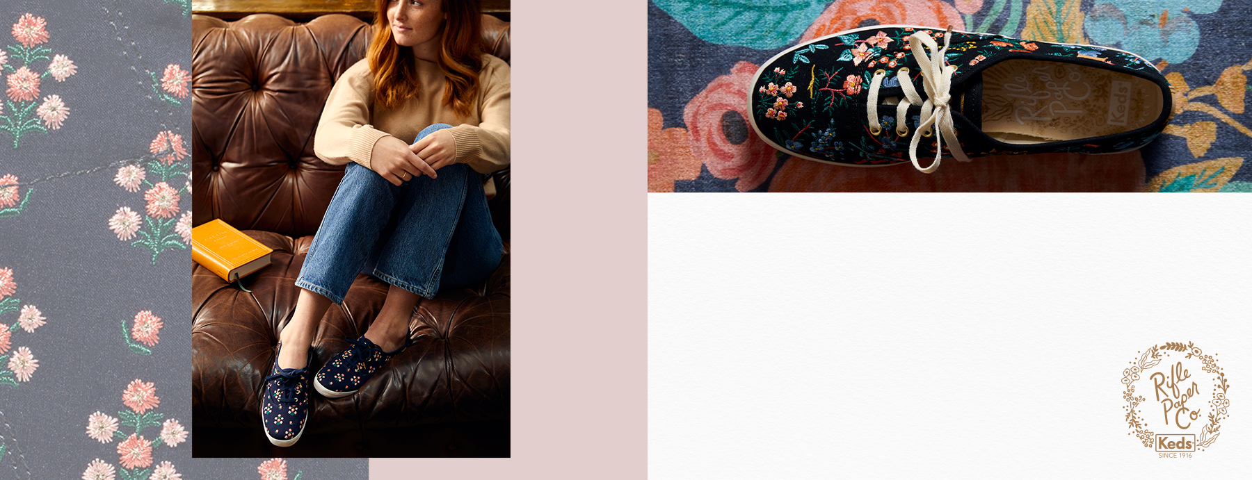 Keds x Rifle Paper Co. Floral Shoes