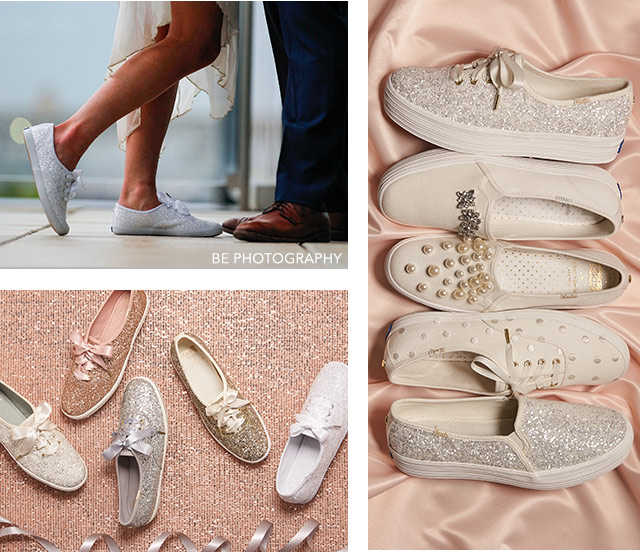 874f9bf20c28 Wedding Sneakers - Glitter   Kate Spade Wedding Shoes