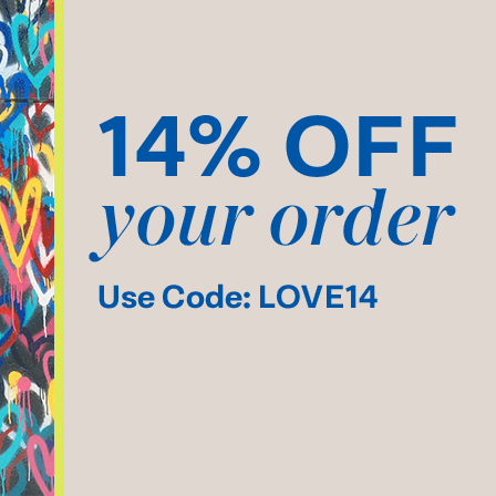 14% Off your order. Use Code: LOVE14.