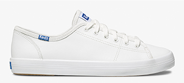 White Leather Kickstart Sneaker