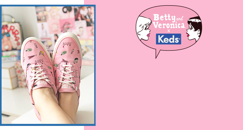 Betty & Veronica X Keds