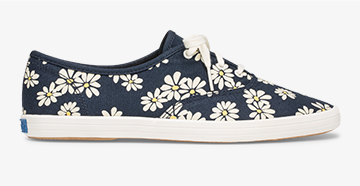 Vintage Champion Sneaker in Daisy Print