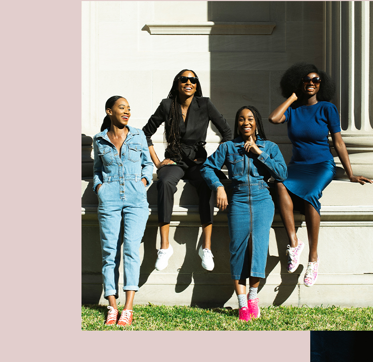 The ladies of influencing in color
