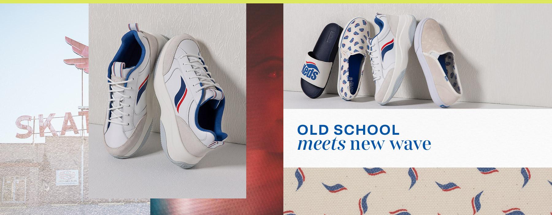 Old School meets new wave
