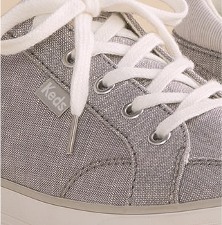 Keds Center II Chambray Stripe Shoe.