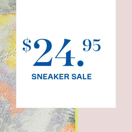 $24.95 Sneaker Sale.