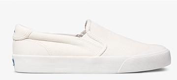 White Crew Kick 75 Slip Sneaker