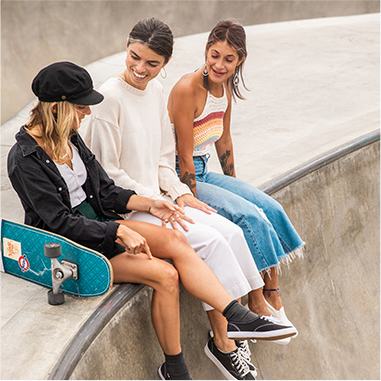 GRLSWIRL, an all-female skate sisterhood, on finding like-minded women to share their love of skateboarding with.