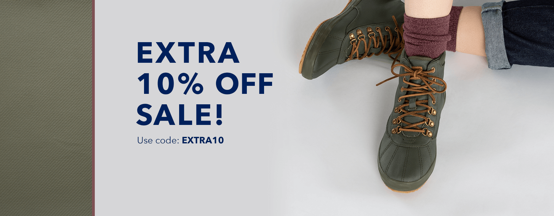 Extra 10% off sale! Use code: EXTRA20.