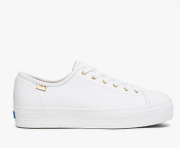 Triple Kick Luxe Leather Sneaker