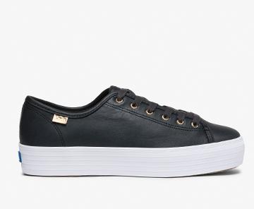 Triple Kick Luxe Leather Sneaker