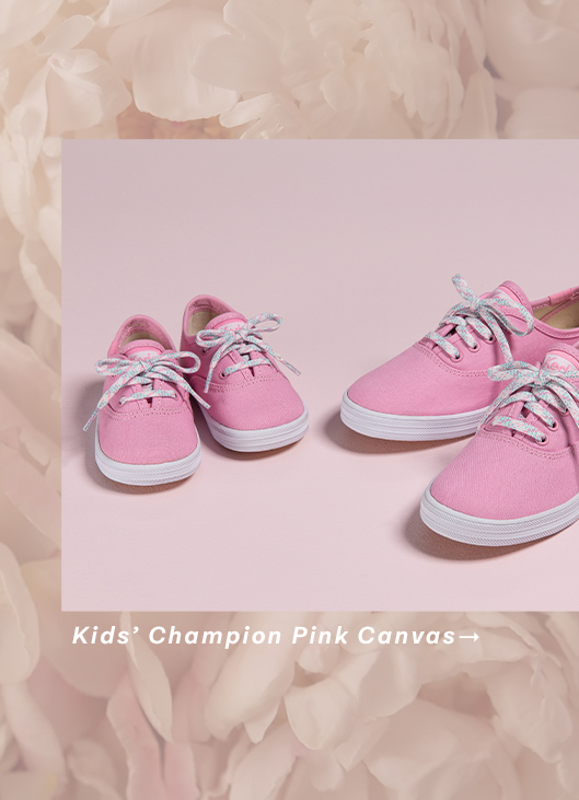 Kids' Champion Pink Canvas