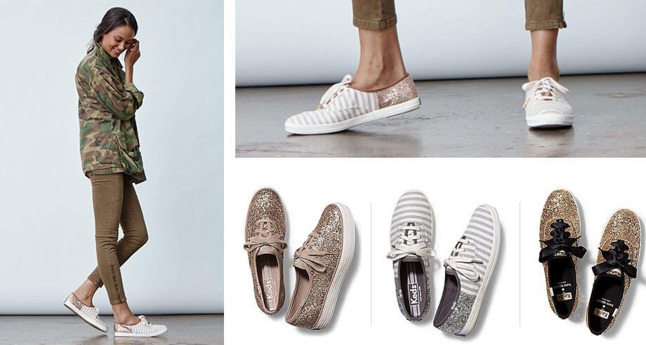 Glitter Keds Shoes