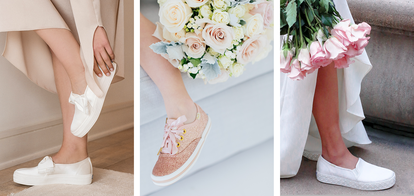 Wedding Sneakers Kate Spade Bridal Shoes Keds