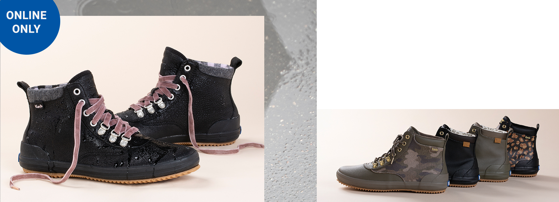 High Top \u0026 Leather Boots for Women   Keds