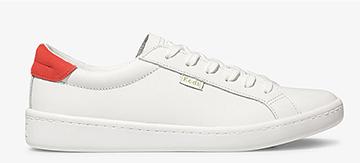 Neon Coral White Ace Sneaker