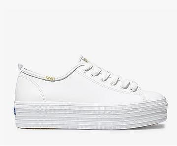 White Triple Up Sneaker