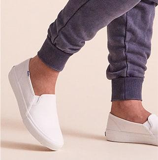 Keds Double Decker Leather Shoe.