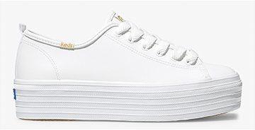 White Triple Up Sneaker