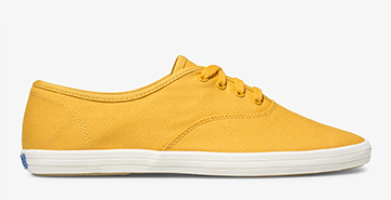 Vintage Champion Sneaker in Yellow