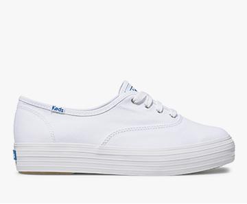 White Triple Sneaker