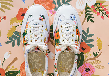 KEDS X RIFLE PAPER CO.