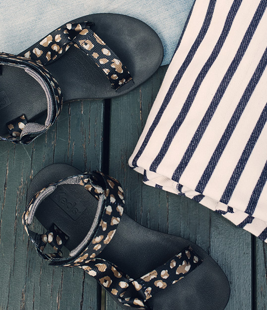 Keds sandals.