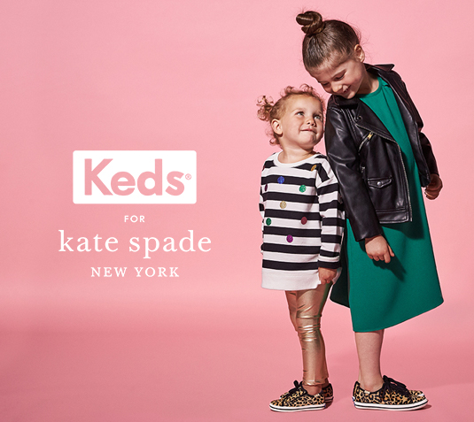 Keds for Kate Spade, New York.