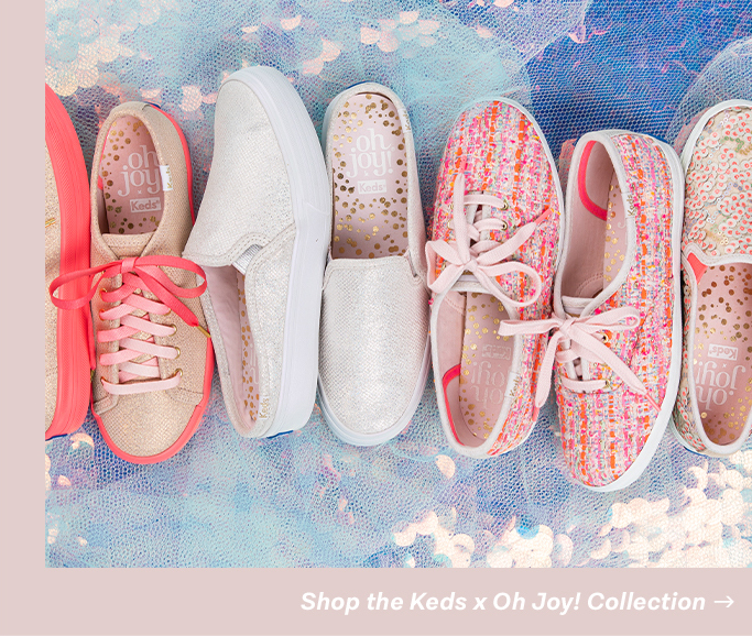 Shop the Keds x Oh Joy! Collection