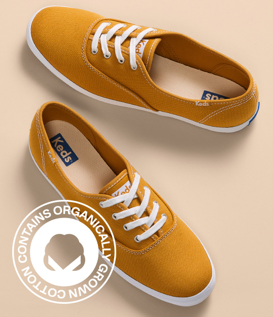 Keds organic shoes.