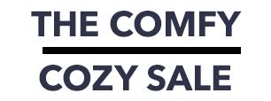 THE COMFY COZY SALE