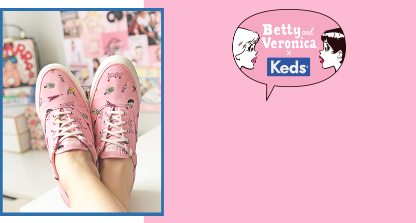Betty and Veronica x Keds