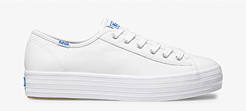 White Triple Kick Sneaker