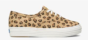 Leopard Triple Sneaker