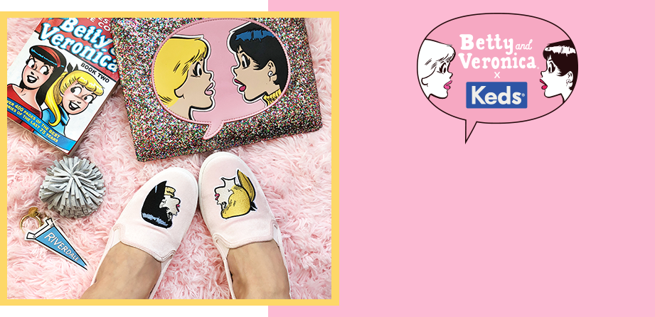 Betty & Veronica X Keds