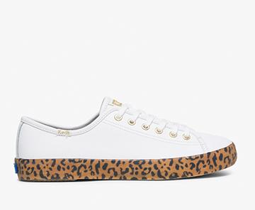 Leopard Foxing Kickstart Sneaker