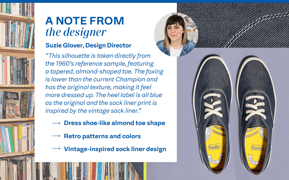A note from the designer Suzie Glover, Design Director. 